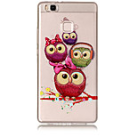 Case For Huawei P8 Lite (2017) P10 Lite Transparent Pattern Back Cover Owl Soft TPU for Huawei P10 Lite Huawei P9 Lite Huawei P8 Lite