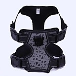 Dog Harness Portable Solid PU Leather/Polyurethane Leather