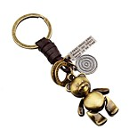 cheap -Keychains Jewelry Leather Alloy Irregular Animals Lovely Gift School