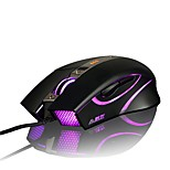 ajazz aj310 firstblood 3500 dpi 6 pulsanti led usb gaming mouse avagoa3050
