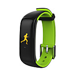 P1 Plus Smart Bracelet Outdoor Water Resistant / Water Proof Finger sensor Gravity Sensor Heart Rate Sensor G-Sensor
