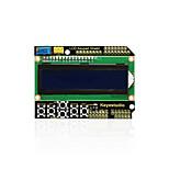 keyestudio 1602lcd щит клавиатуры для arduino lcd дисплей atmega2560 для малины pi uno синий экран черный модуль