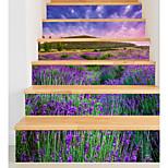 Недорогие -Цветочные мотивы/ботанический Романтика Пейзаж Наклейки Корпус Простые наклейки 3D наклейки Декоративные наклейки на стены Свадебные