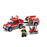 Конструкторы Пожарная машина Игрушки Транспорт Мальчики 143 Куски