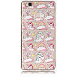 Case For Huawei P8 Lite (2017) P10 Lite Transparent Pattern Back Cover Unicorn Soft TPU for Huawei P10 Lite Huawei P9 Lite Huawei P8 Lite