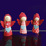 3pcs милые девушки рождественские украшения рождественская елка подвеска держатель декор