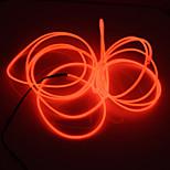 brelong 3m dc 12v el led неоновая холодная полоска света круглая линия - блок питания