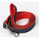 Dog Harness Portable Solid Nylon Pink Blue Red Black