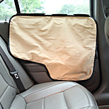 Dog Protective Screen Pet Mats & Pads Solid Foldable Black Gray Khaki For Pets