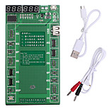 baratos -placa de carga de ativação da bateria pofessional com micro usb cabo para apple iphone 6 plus 5s 5 4s 4