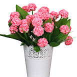 36см 2 шт. 8 голов / ветка гортензия украшение для дома искусственные цветы