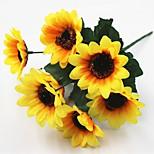 30см 5 шт 7 голова / ветка солнце цветок дома украшение искусственные цветы