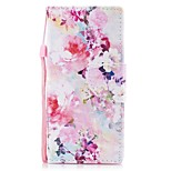 Case For Sony Xperia XA1 Xperia E5 Card Holder Wallet with Stand Flip Pattern Full Body Flower Hard PU Leather for Sony Xperia XZ1 Sony