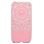 Case For Huawei P8 Lite (2017) P10 Lite Transparent Pattern Back Cover Lace Printing Soft TPU for Huawei P10 Lite Huawei P10 Huawei P8