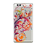 Case For Huawei P9 P10 Transparent Pattern Back Cover Flower Soft TPU for Huawei P10 Plus Huawei P10 Lite Huawei P10 Huawei P9 Huawei P9