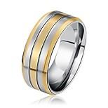Муж. Жен. Классические кольца Рок Cool Нержавеющая сталь Геометрической формы Бижутерия Назначение Свадьба Бар