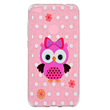 Case For Huawei P8 Lite (2017) P10 Lite Transparent Pattern Back Cover Glitter Shine Owl Soft TPU for Huawei P10 Lite Huawei P9 Lite