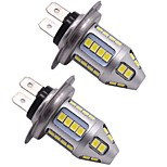 Premium Lightness 150W H7 Samsung LED Headlight Replacing Bulb H7 High Beam Headlight Light Bulb White Color(2PCS)