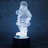 Недорогие -1шт 3D ночной свет С портом USB 0.5