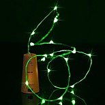 BRELONG 0.9M 8LED Wine Bottle Copper String Lights For Christmas Wedding Party  Decorations