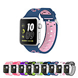 Watch Band for Apple Watch Series 3 / 2 / 1 Apple Wrist Strap Sport Band Silica Gel