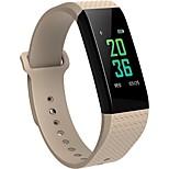 Bym männer frau neue b12 farbe bildschirm smart armband herzfrequenz übung schlaf überwachung wasserdicht anti verloren smart armband für