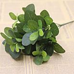 30см 2 шт. 5 голов / ветвь сетчатый лист домашнее украшение искусственная трава