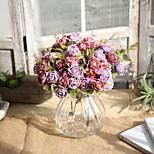 Недорогие -1 Филиал Другое Недвижимость сенсорный Розы Букеты на стол Искусственные Цветы
