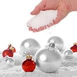 4шт поддельный волшебный мгновенный снег пушистый для рождественской свадьбы рождественский белый снег