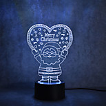 economico -1pc 3D Nightlight Con porta USB 0.5