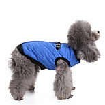 Dog Vest Dog Clothes Breathable Stylish Solid Fuchsia Brown Red Blue Pink Costume For Pets