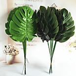 45см 5 шт. 18см ширина украшения для дома искусственные монстры зеленые растения