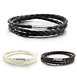 Men's Women's Wrap Bracelet Leather Jewelry For Daily