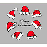 Christmas Words & Quotes Romance Wall Stickers Plane Wall Stickers 3D Wall Stickers Decorative Wall Stickers Fridge Stickers Wedding