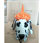 Собака Парики Одежда для собак Стиль В полоску Оранжевый Лиловый Костюм Для домашних животных
