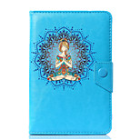 Universal Mandala PU Leather Stand Cover Case For 7 Inch 8 Inch 9 Inch 10 Inch Tablet PC