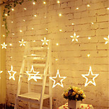 Star Curtain Lights 8 Modes With 12 Stars 138 LEDs Waterproof Linkable Curtain String Lights String Light