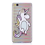 Case For Huawei P9 Lite P10 Transparent Back Cover Unicorn Soft TPU for Huawei P10 Plus Huawei P10 Lite Huawei P10 Huawei P9 Huawei P9
