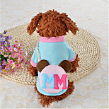 Cat Dog Sweatshirt Dog Clothes New Casual/Daily Keep Warm Warm Ups Leisure Adorable Halloween Christmas Blue Pink Costume For Pets