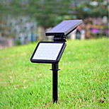 1pc 4.5W LED Solar Lights Decorative Outdoor Lighting Natural White <5