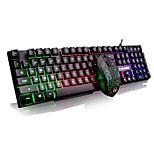 g160 mini teclado luminoso para juegos&ratón