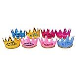 4шт корона вел шляпу шляпы шляпы шляпы принцессы шляпу партии ramdon цвет