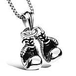 Men's Women's Pendant Necklaces Irregular Titanium Steel Sexy Sports Jewelry For Ceremony Work