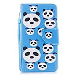 Case For Huawei P8 Lite (2017) P10 Lite Card Holder Wallet with Stand Flip Pattern Full Body Panda Hard PU Leather for Huawei P10 Plus