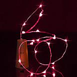 abordables -brelong 1.5 m 15led botella de vino de cobre luces de cadena para decoraciones de fiesta de halloween de navidad