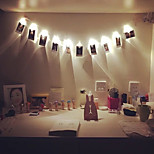 1M 10 Led Clip String Lights Battery Christmas Lights Party Wedding Home Decoration Fairy Lights Battery