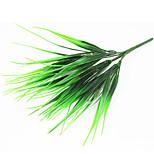 30см 4 шт 56 оставить / филиал зеленой травой домашнее украшение искусственной травы
