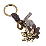cheap -Keychains Jewelry Leather Alloy Leaf Classic Korean School Going out