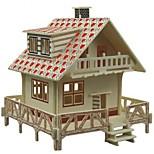 Недорогие -3D пазлы Пазлы Пазлы и логические игры Наборы для моделирования Модель дерева Игрушки Лошадь 3D Домики Мода Для детской Горячая распродажа