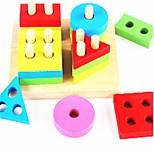 Конструкторы Игрушки Обучающая игрушка Игрушки Самолет Геометрической формы Школа/выпускной Для школы Новый дизайн Куски
